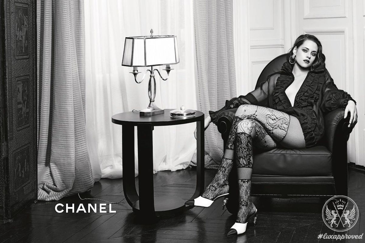 Kristen Stewart For Chanel Paris in Rome Metiers d'Art Campaign