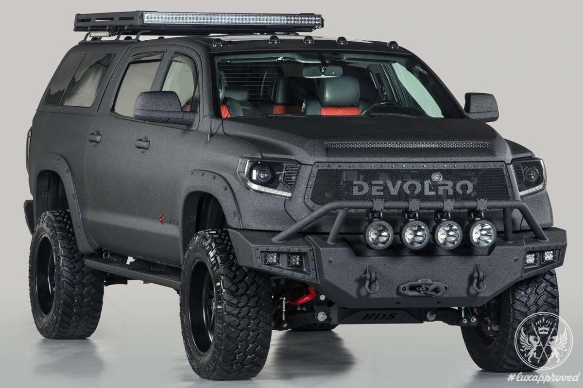 Apocalypse-Ready Devolro Diablo Is Fitted With Grenade-Resistant Steel Armor