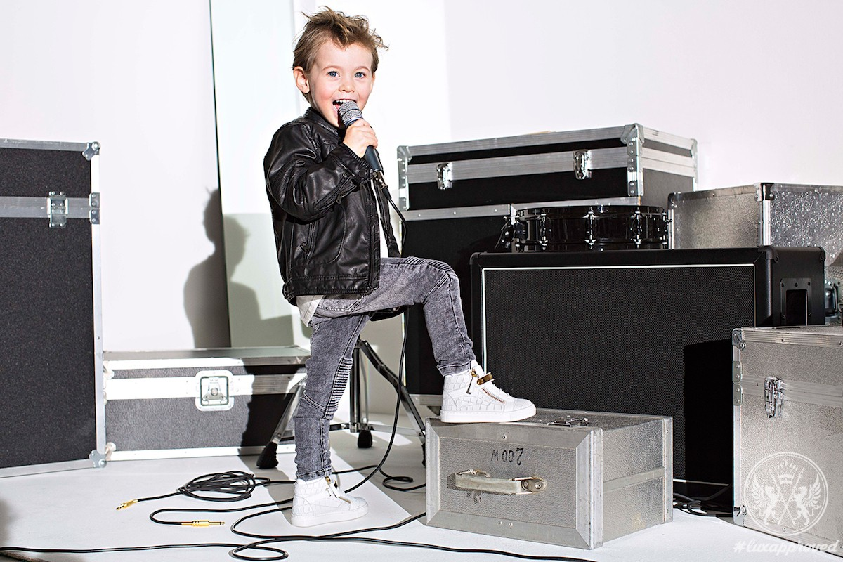 Giuseppe Junior Is The Tot's Footwear Line From Giuseppe Zanotti