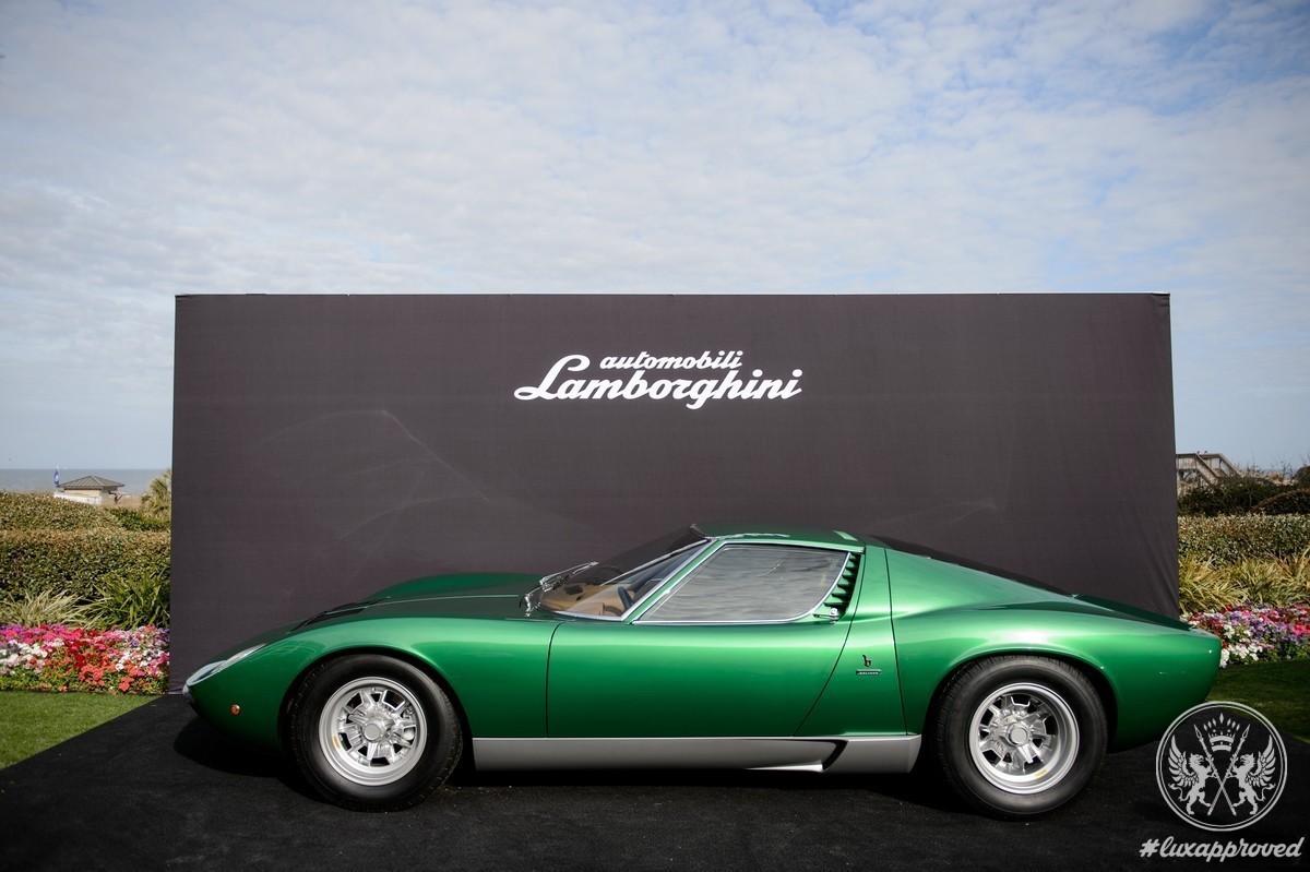 Lamborghini Miura Celebrates Its 50th Birthday