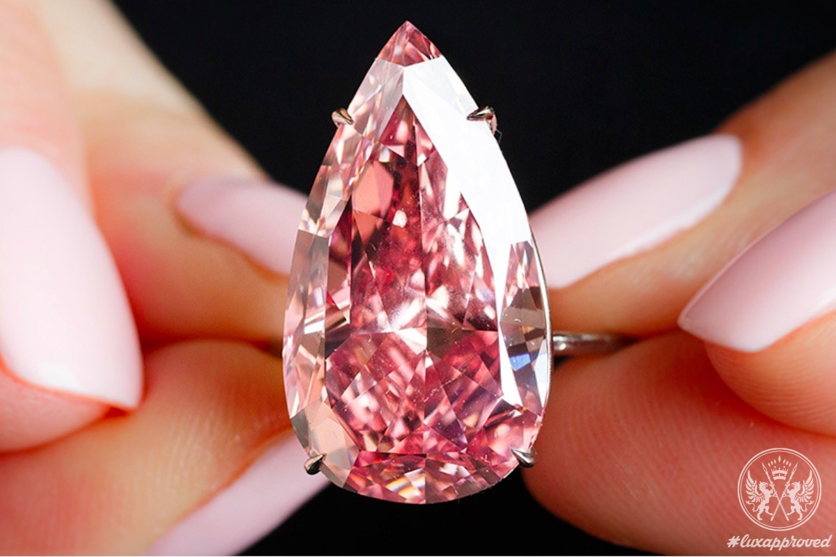 """""""The Unique Pink"""" Diamond To Be Auctioned Off In May"""