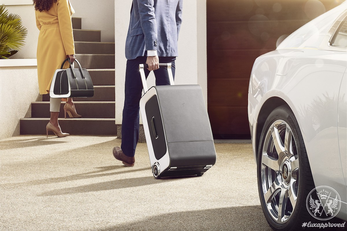 Rolls-Royce Wraith Luggage Collection