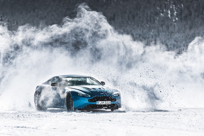 "Aston Martin Presents ""New Zealand On Ice"" Driving Event"