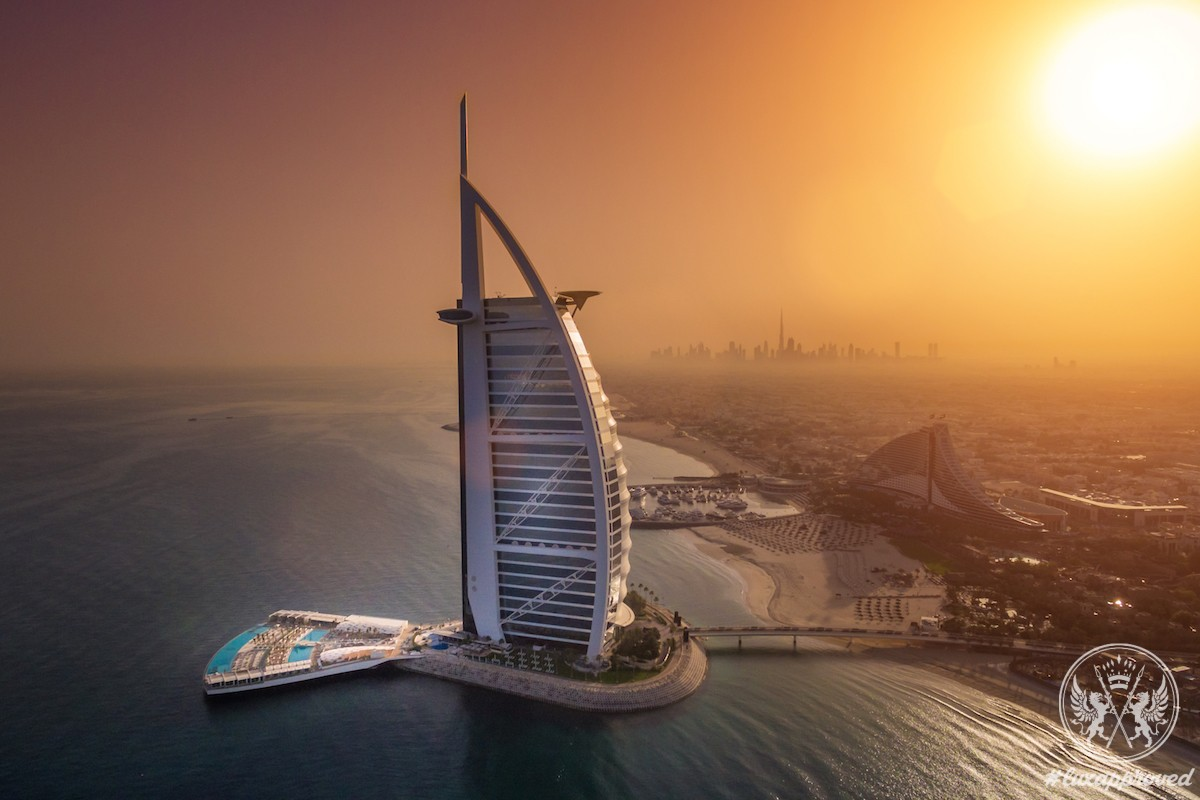 Burj Al Arab Jumeirah Hotel Has Unveiled Its Lavish Outdoor Terrace