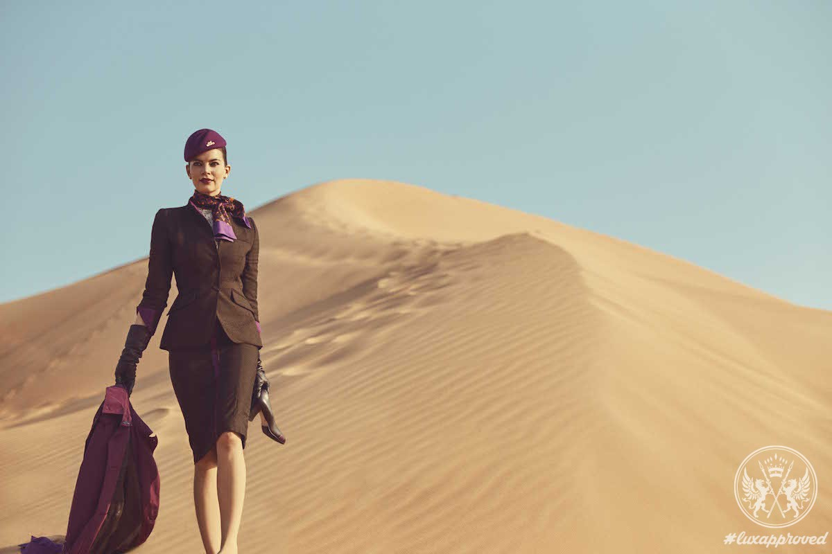 Etihad Airways Is The Official Airline Of The World's Top Fashion Week Events