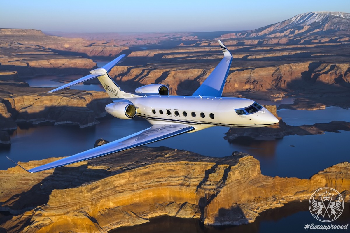Gulfstream G650ER Private Jet Breaks Speed Record