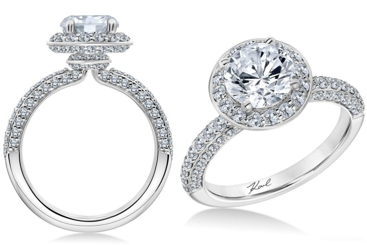 Karl Lagerfeld Designs Engagement Rings