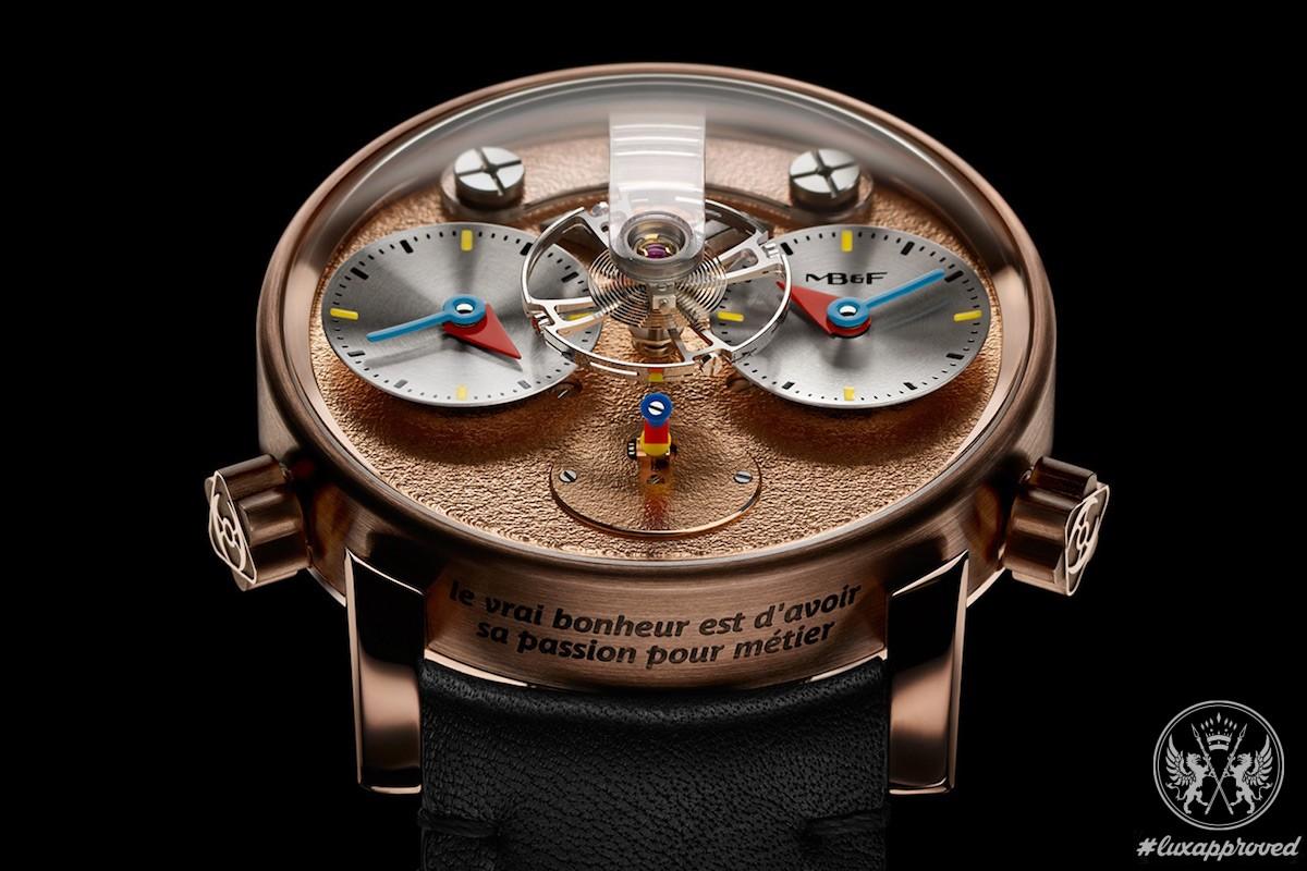 MB&F LM1 Silberstein Timepiece