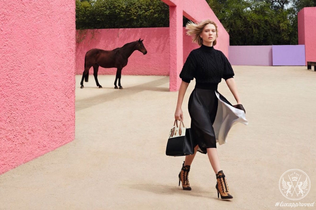 Léa Seydoux For Louis Vuitton