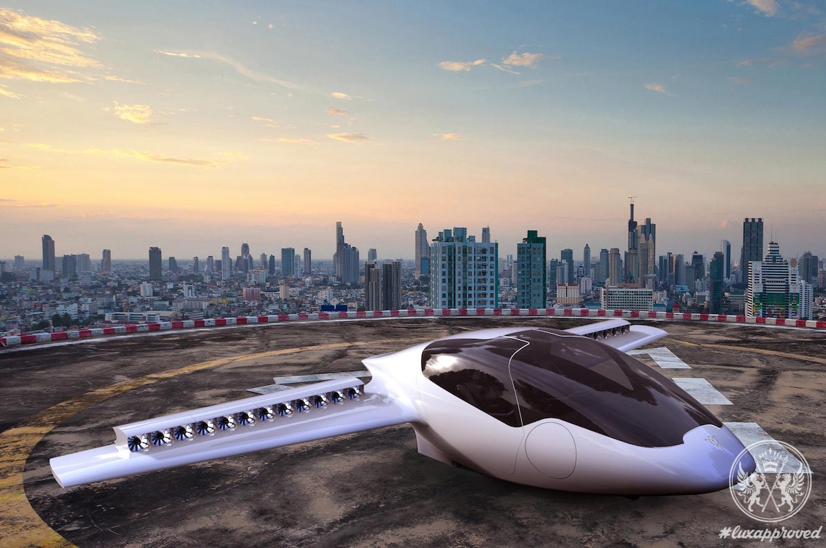 The Future Of Aviation Begins With Lilium Jet