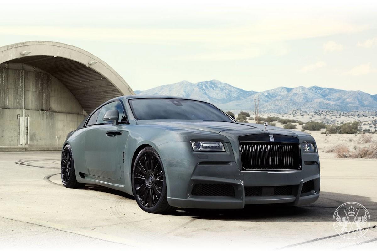Rolls-Royce Wraith Overdose By SPOFEC