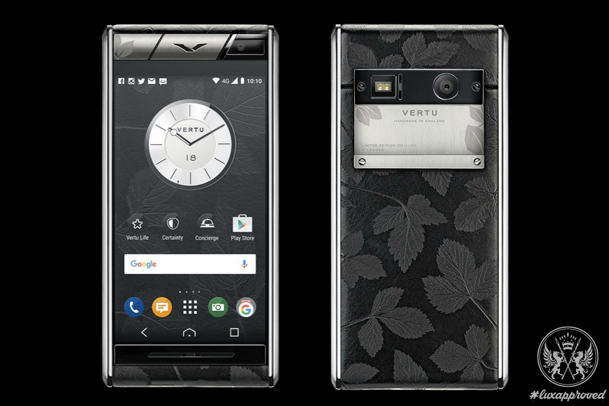Introducing The Vertu Aster Leaf