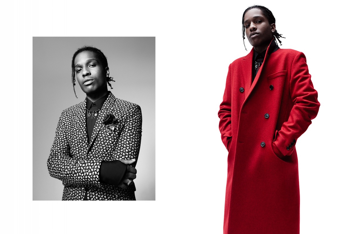 A$AP Rocky Fronts Dior Homme Autumn-Winter 2016-2017 Campaign
