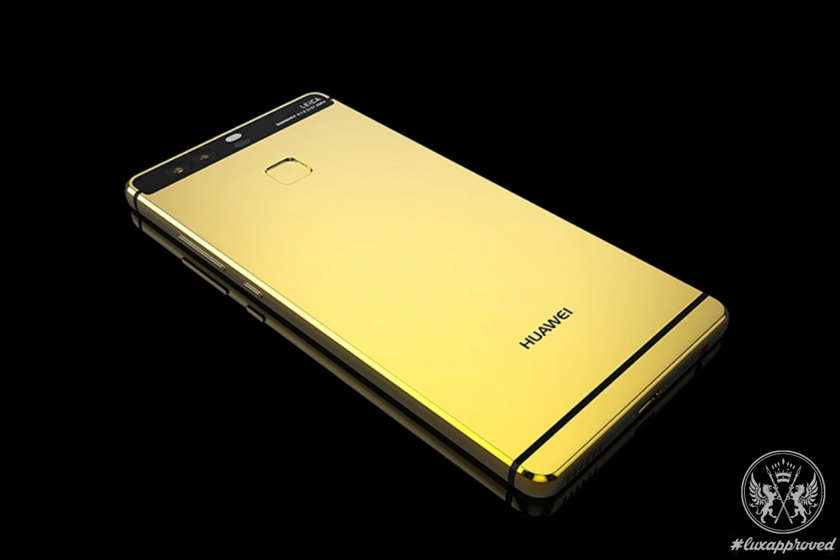 Huawei P9 Has Never Been As Luxurious As With Goldgenie's Gold-Plating Service