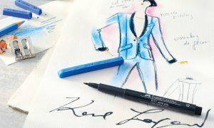 """Karlbox"" Is An Art Supply Kit From Karl Lagerfeld"