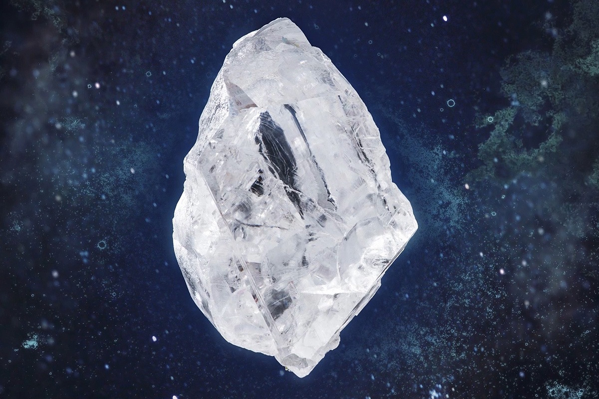 Sotheby's To Auction The $70 Million Lesedi la Rona Rough Diamond