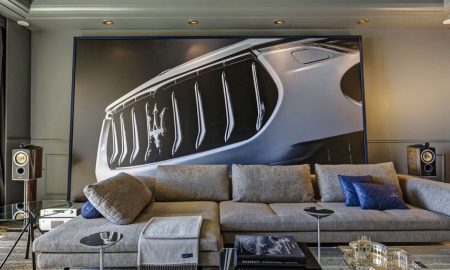 The Maserati Suite at Hôtel de Paris