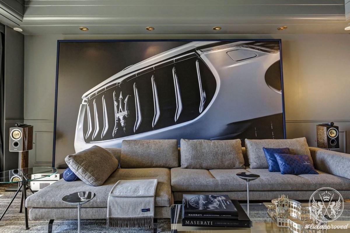 The Maserati Suite at Hôtel de Paris