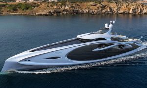Nouveau Is A 90m Mega Yacht Concept By Andy Waugh