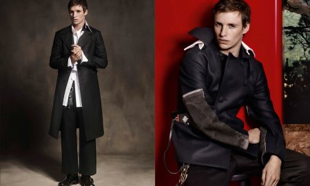 Eddie Redmayne For Prada's Fall 2016 Campaign