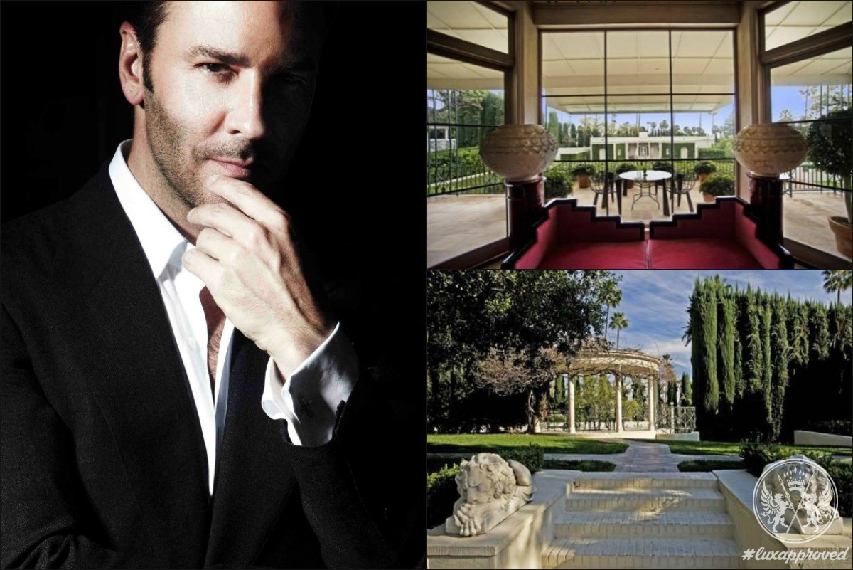 Tom Ford Has Acquired This $53 Million Hollywood Estate