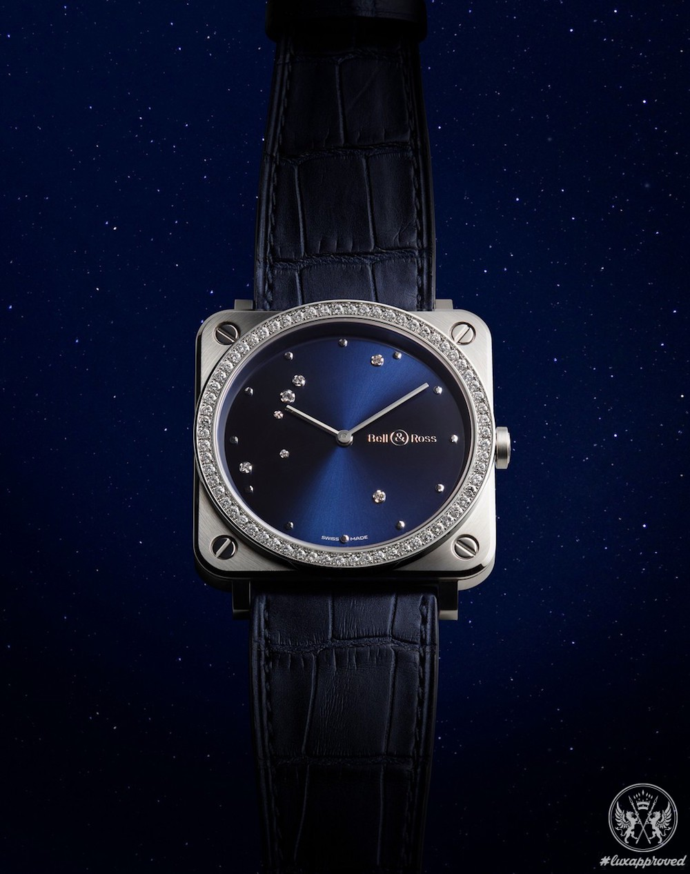 Bell & Ross BR S Diamond Eagle Is Inspired By The Celestial Orb
