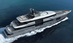 Admiral Yachts' Ouranos Is Heading To The Monaco Yacht Show In September