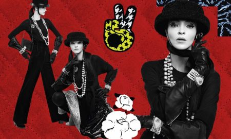 Karl Lagerfeld Creates Collages For Chanel Fall‑Winter 2016/17 Ready‑to‑Wear Campaign