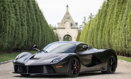 This LaFerrari Finished in Nero DS Opaco Is An Infernal Horse