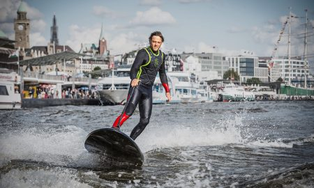 Lampuga Boost Electric Surfboard Will Set You Back $14,500