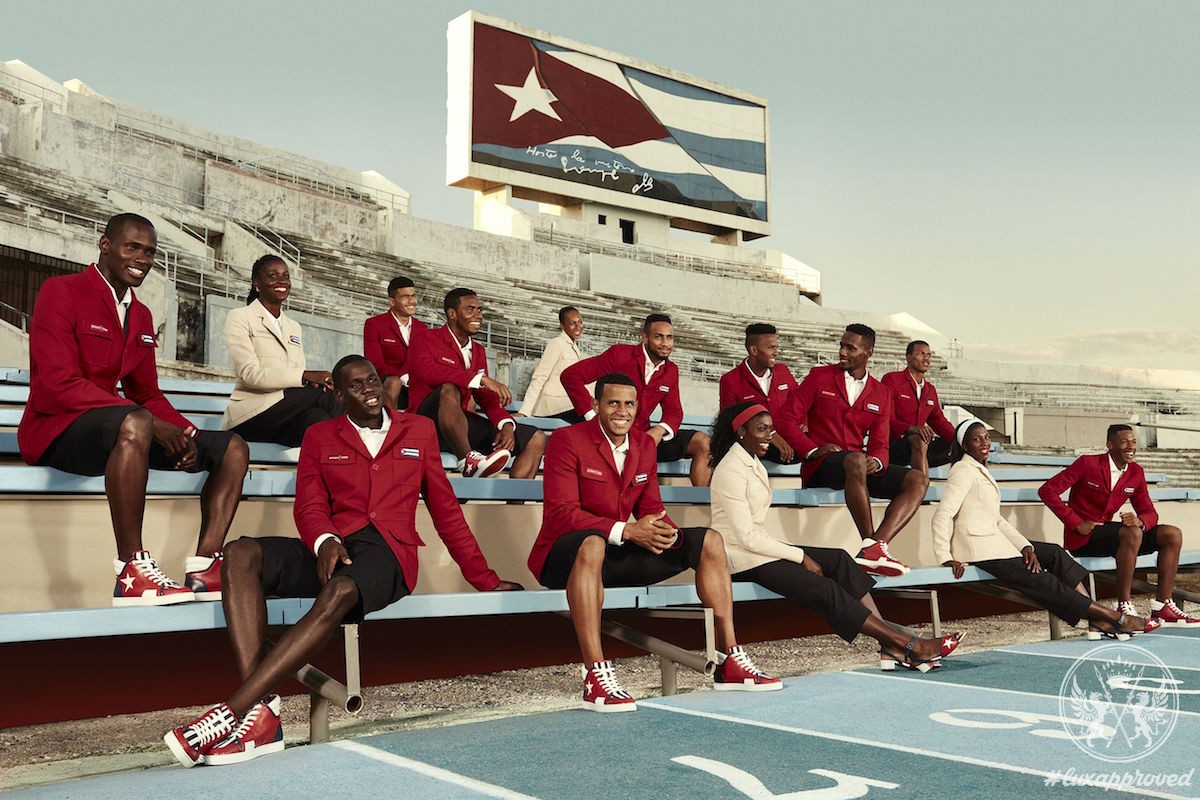 Christian Louboutin Dresses the Cuban National Team for the 2016 Olympics