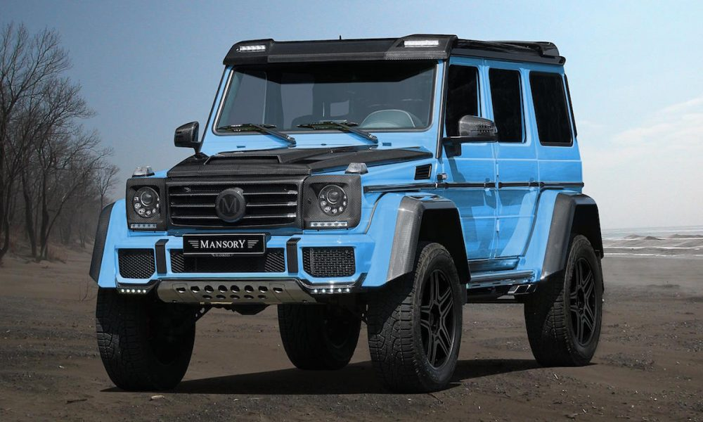 We Love This Ostentatious Mansory Mercedes-Benz G500 4×4²