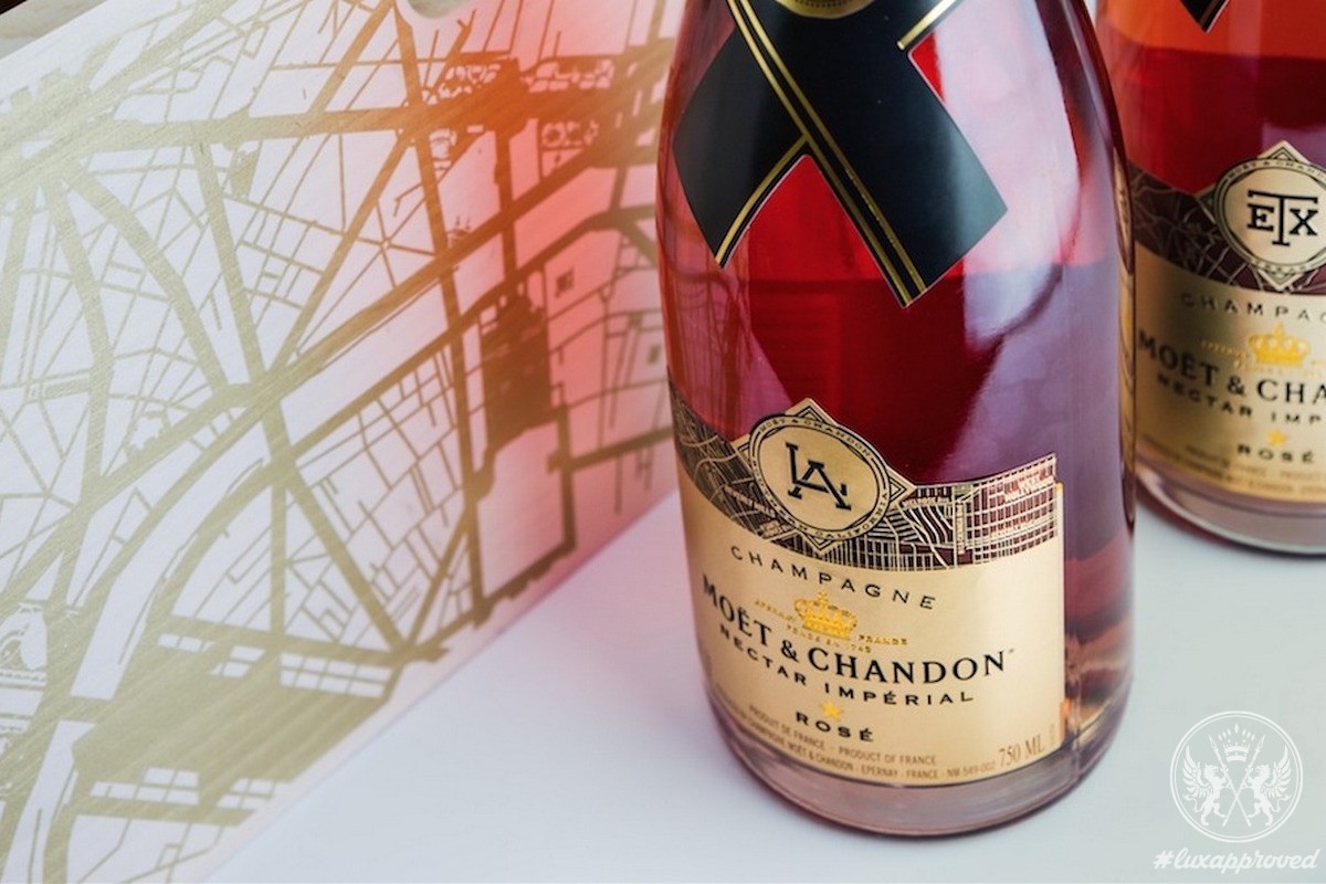 Moët & Chandon Launches Limited-Edition City Bottles