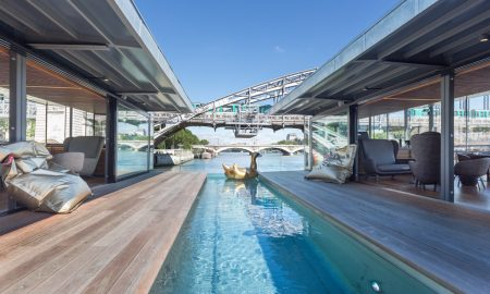 Off Paris Seine Hotel Is First Floating Hotel In France