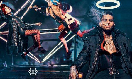 Chris Brown Stars In Latest Philipp Plein Ad Campaign