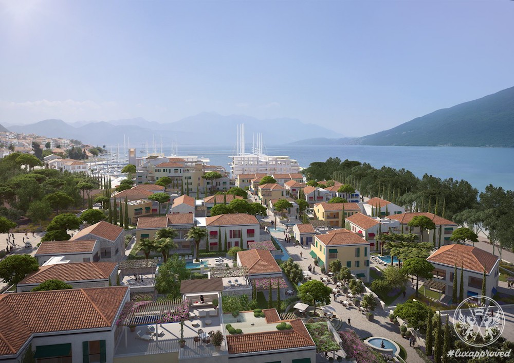 Properties At Portonovi, Montenegro Are Available For Purchase