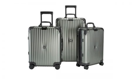Moncler X Rimowa Reimagine Topas Stealth Luggage Collection