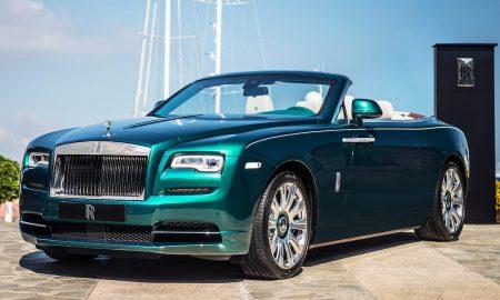Rolls-Royce Summer Studio Presents Emerald Embellished Dawn & Wraith