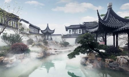 The $154 million Taohuayuan Garden Home Sets A Price Record In China