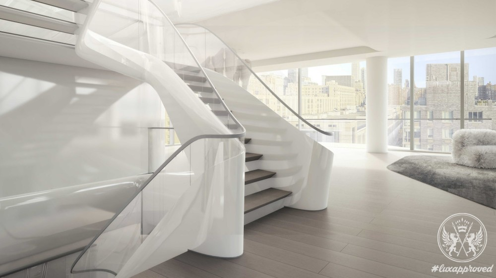 NYC's First Zaha Hadid Penthouse Is Worth $50 Million