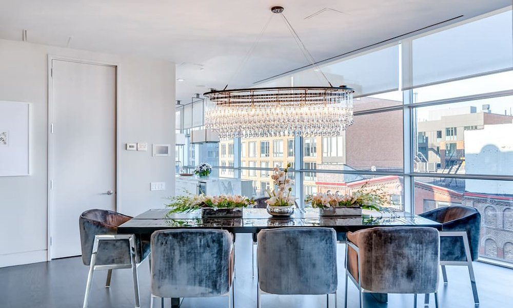 A Look Inside Kim Kardashian West's Airbnb New York City Penthouse