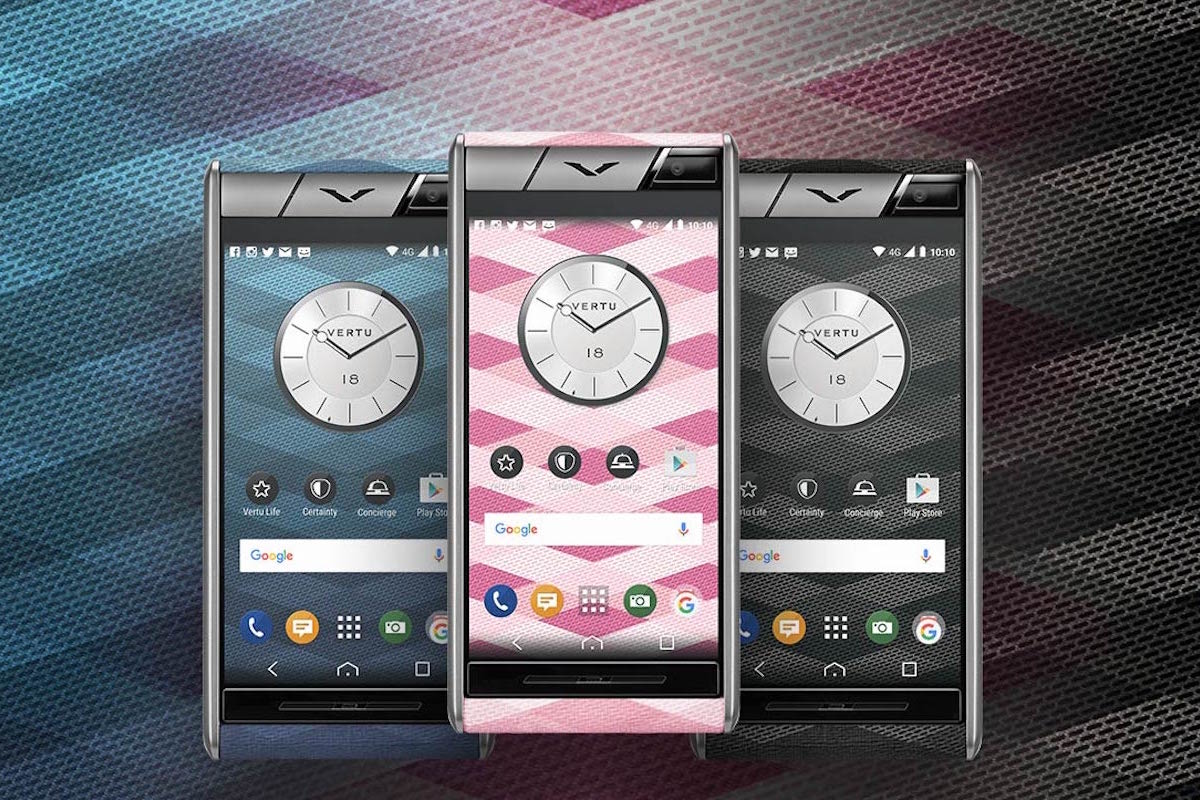 Vertu Presents Aster Chevron