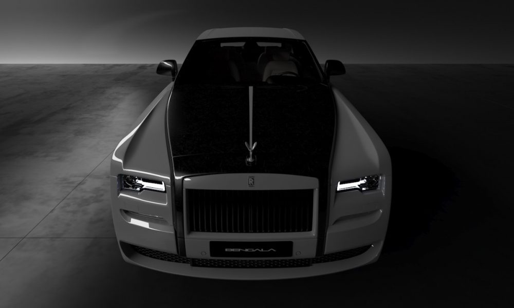 Vitesse AuDessus X Bengala Automotive Dress Rolls-Royce In Carbon Fibre