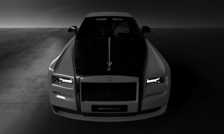 Vitesse AuDessus X Bengala Automotive Dress Rolls-Royce In Carbon Fibre