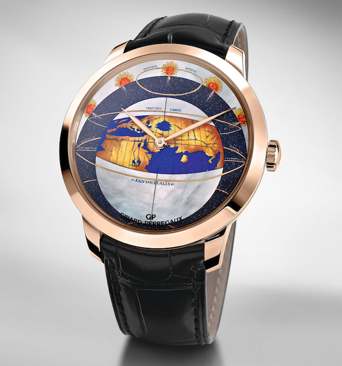 Cartographic Masterpiece: Girard-Perregaux Chamber of Wonders Collection