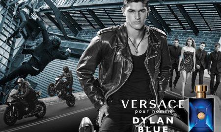 Versace Pour Homme Dylan Blue Campaign