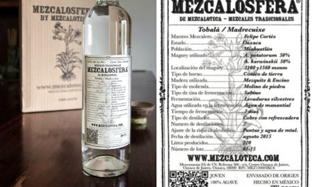 Mezcalosfera de Mezcaloteca Tobala Limited Offering Is Coming To The U.S.