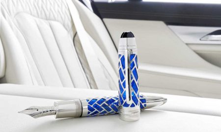 Montblanc For BMW Centennial Fountain Pen Is Available With The Jubilee Edition Of The BMW 7 Series