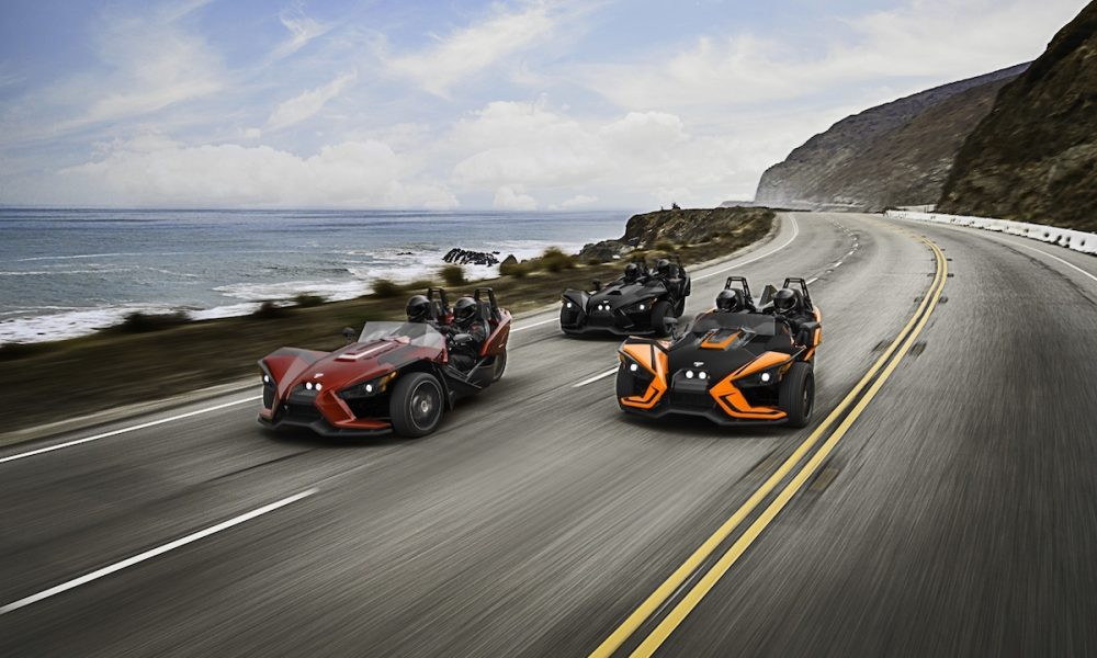 Slingshot SLR Is The Boldest Moto-Roadster