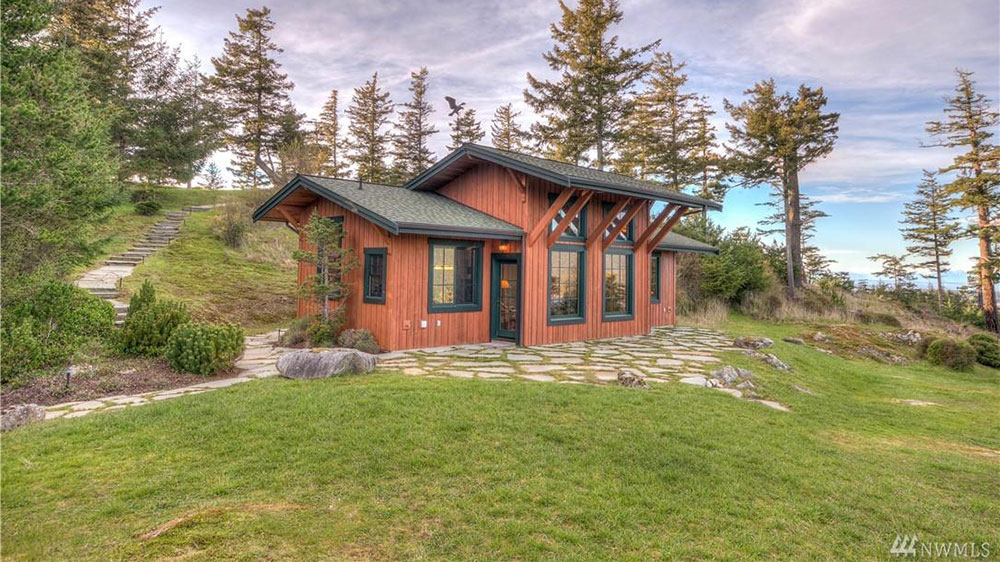 This $1.5 Million Tiny Home On Orcas Island, Boasts The Best Views In The San Juan Islands
